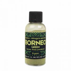 Kratom Borneo Green fein gemahlen 10-25 g – Sacred Plants
