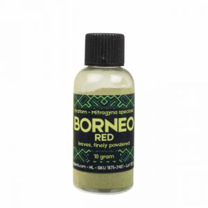 Kratom Borneo Red fein gemahlen - Sacred Plants