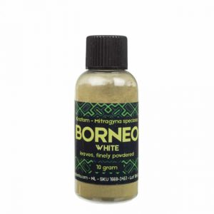 Kratom Borneo White fein gemahlen 10-25 g - Sacred Plants