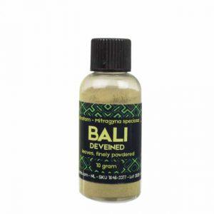 Kratom Bali fein gemahlen 10-25 g – Sacred Plants