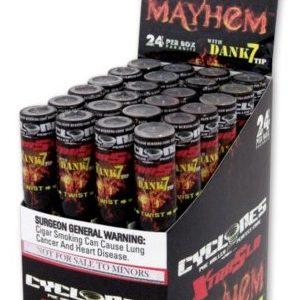 Cyclones XtraSlo Cone Blunts, Mayhem (Kirsche)