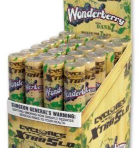 Cyclones XtraSlo Cone Blunts, (Wonderberry)