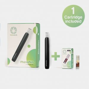 PhenoPen STARTER KIT - 100% REIN CBD + CARTRIDGES 4ER SET