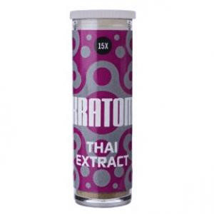Kratom Thai Extrakt 15x – Mitragyna speciosa